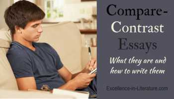 graphic organizers for essay writing excellence in literature by  how to write a compare contrast essay