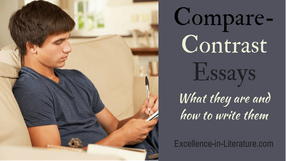 How to write a compare-contrast essay.