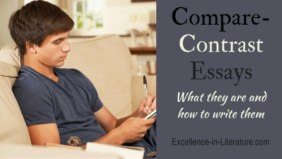 How to write a compare-contrast essay.