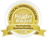 Reader Award 2018 for Excellence in Literature from Practical Homeschooling Magazine