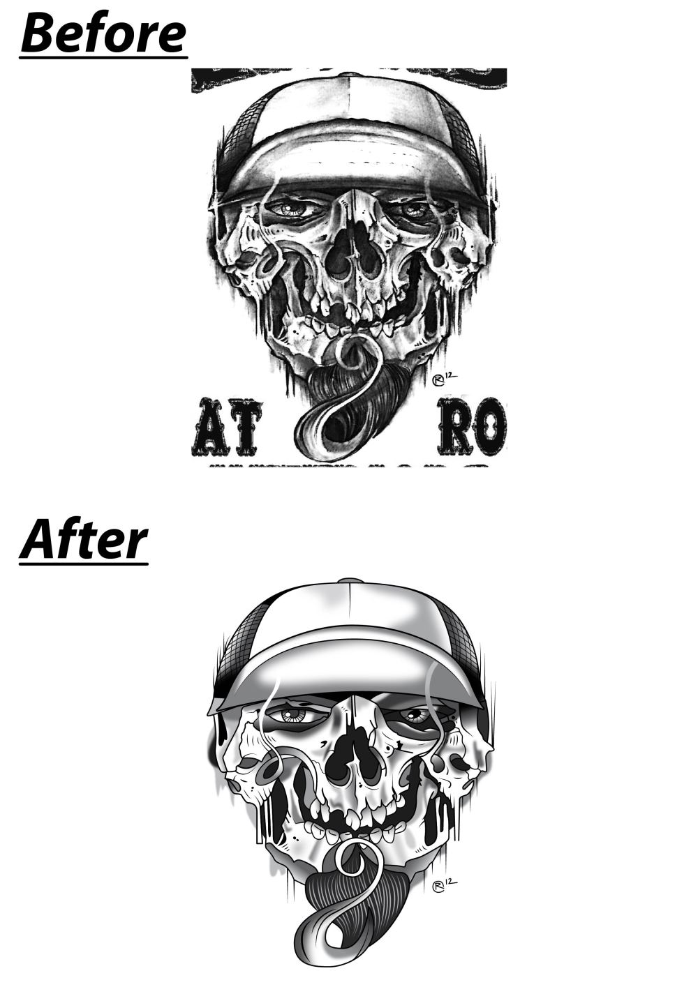 Vector images, Vector based images, and Vector illustration