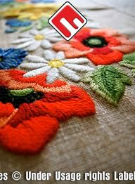 Customized embroidery