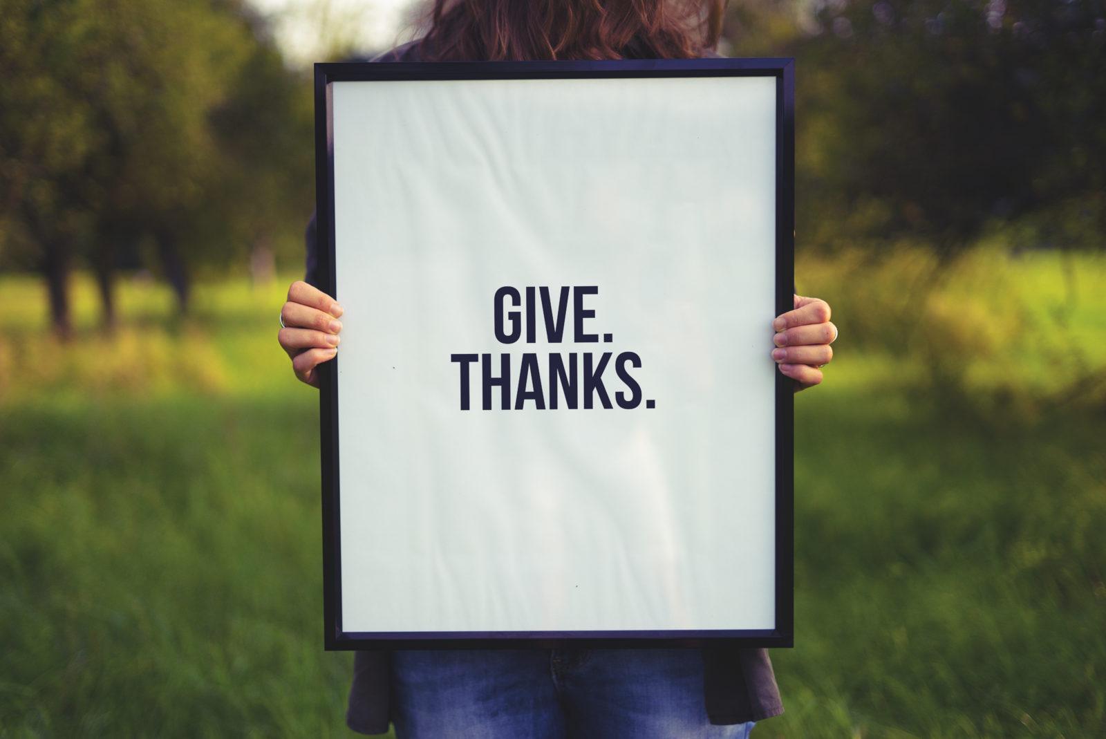 Thanksgiving Reminders