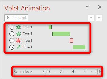 Créer un bon diaporama - Volet animation - Séquence et durée