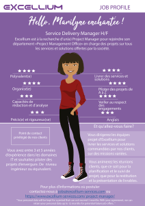 Service Delivery Manager Design
