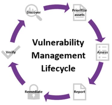 Vulnerability Managment lifecycle - Chart