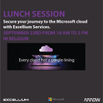 Lunch session banner - XLM360 For O365 & Azure