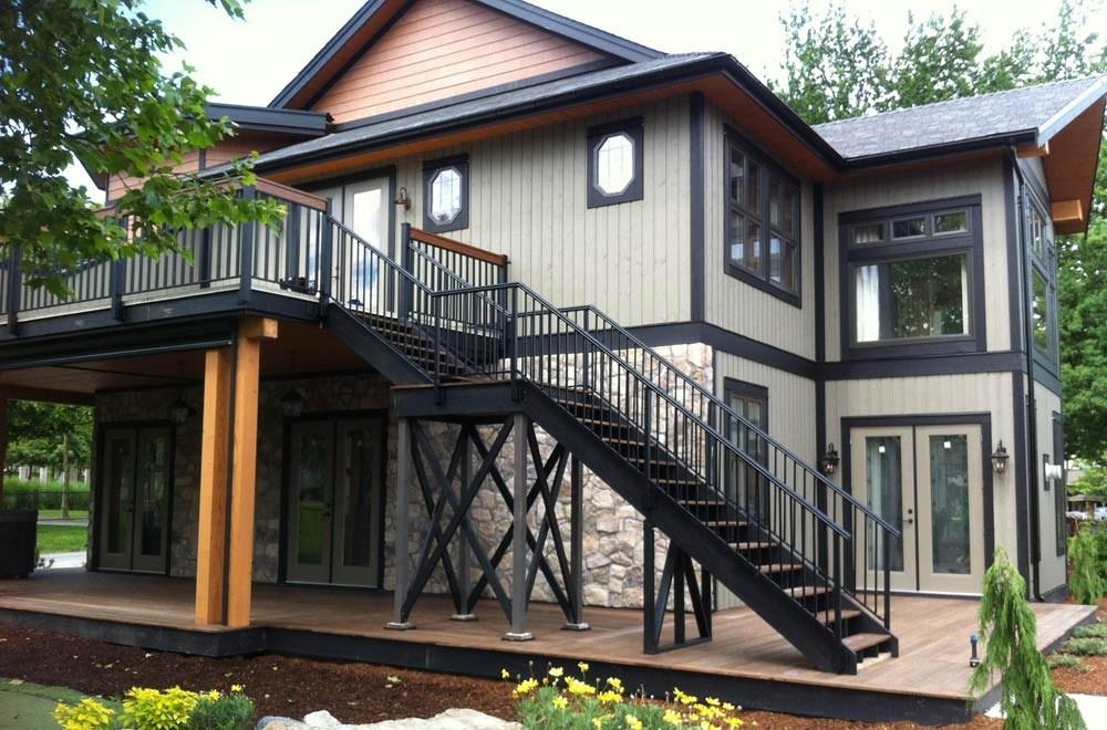 Aluminum Deck Railing Glass Railing Powdercoated Aluminum Picket | Powder Coated Handrails For Stairs | Ornamental Iron | Metal | Deck Railing | Wrought Iron Balusters | Balcony