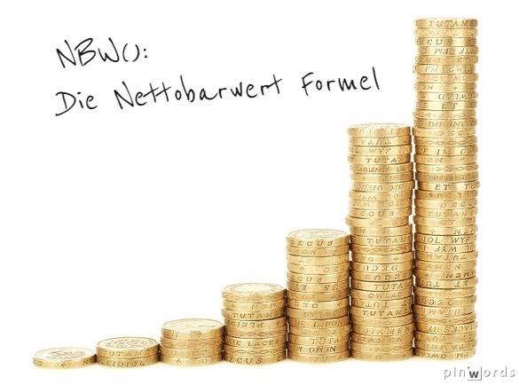 NBW(): Wie man den Nettobarwert in Excel berechnet