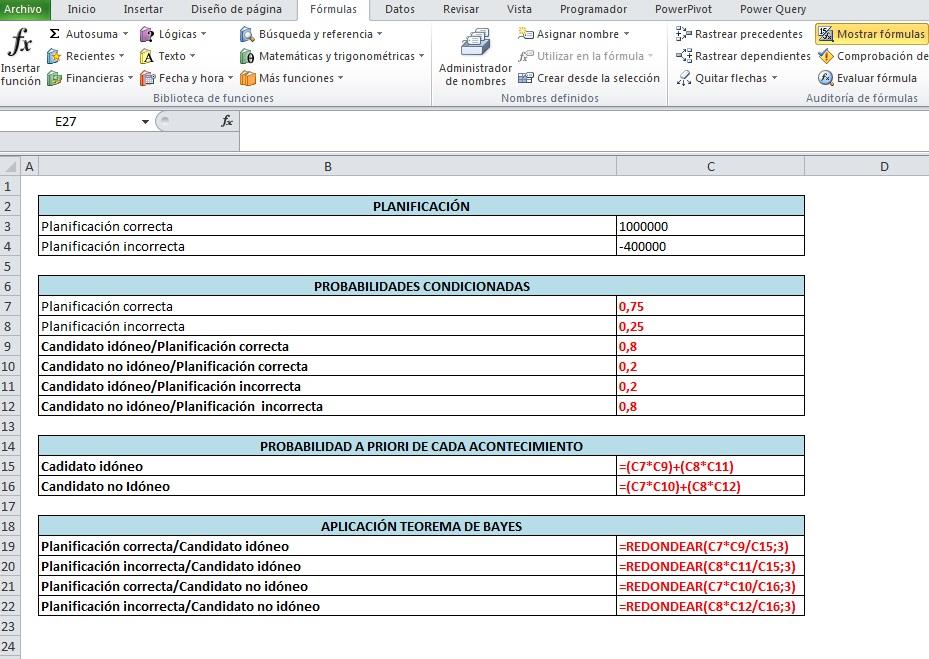 CREAR ARBOL DE DECISIÓN CON SMARTART Y VBA3