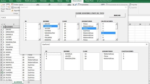 EXPORTAR DATOS SELECCIONADOS DE UN LISTBOX A OTRO LISTBOX EN OTRO FORMULARIO3