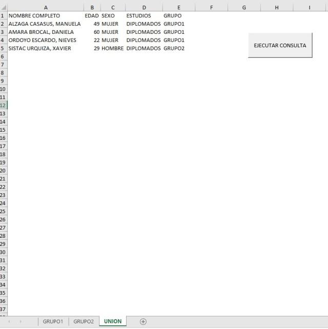 REALIZAR CONSULTAS SQL DE UNION EN EXCEL1