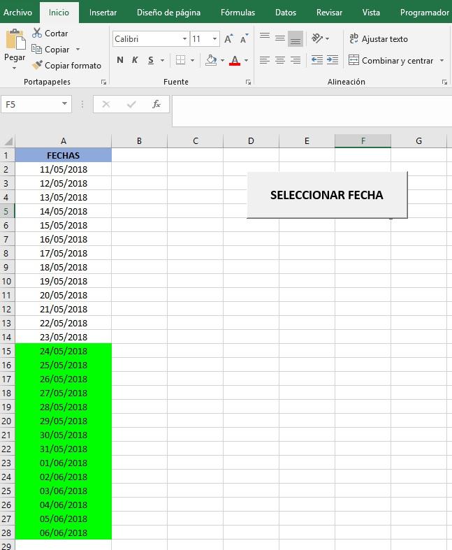 UTILIZAR UN INPUTBOX CON VBA PARA MODIFICAR DATOS3