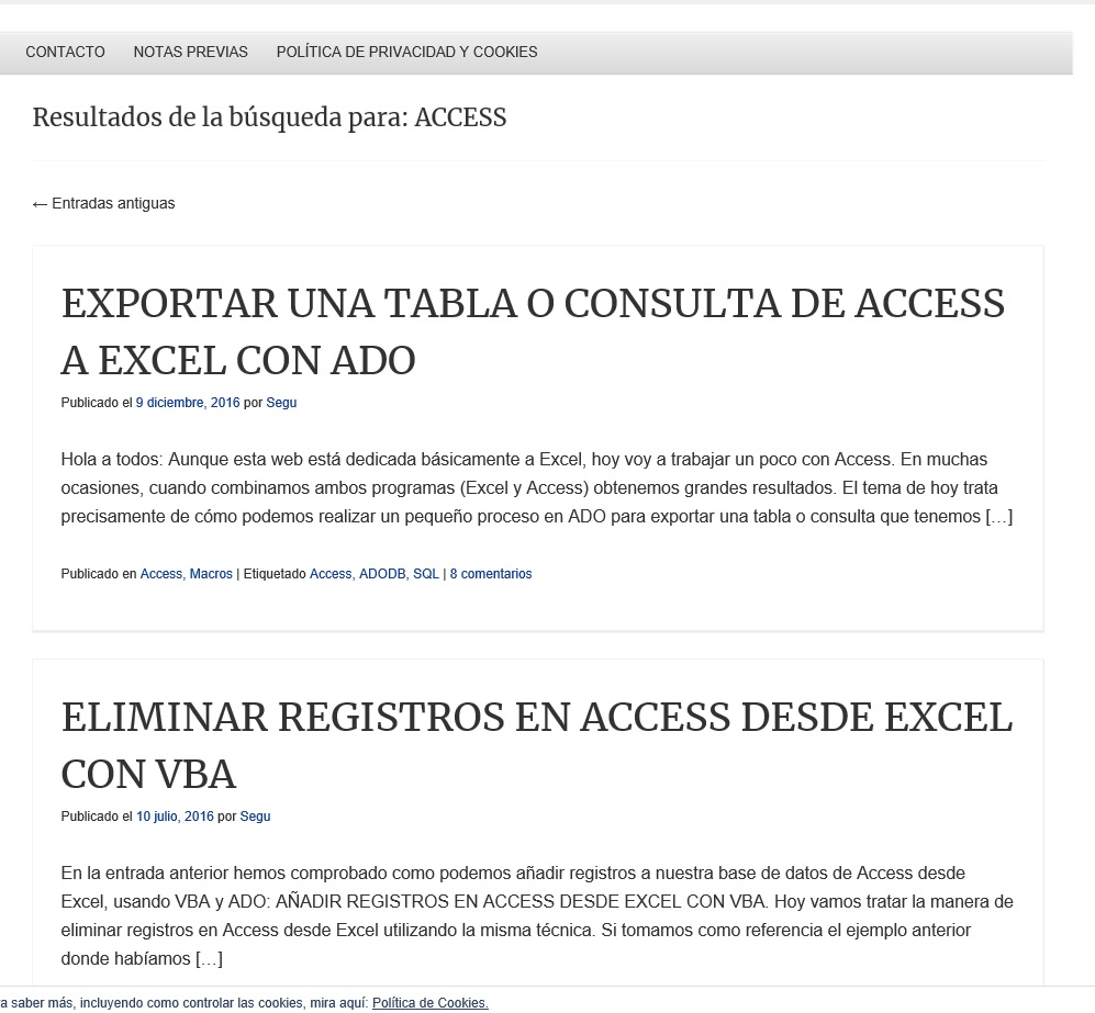 ENVIAR DATOS DESDE EXCEL A UNA PAGINA WEB (CLASSNAME, NAME)1
