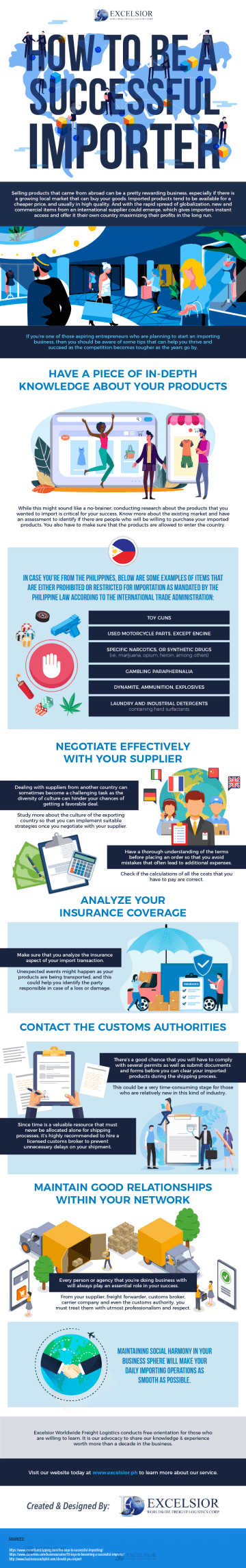 How to Be a Successful Importer - Infographic