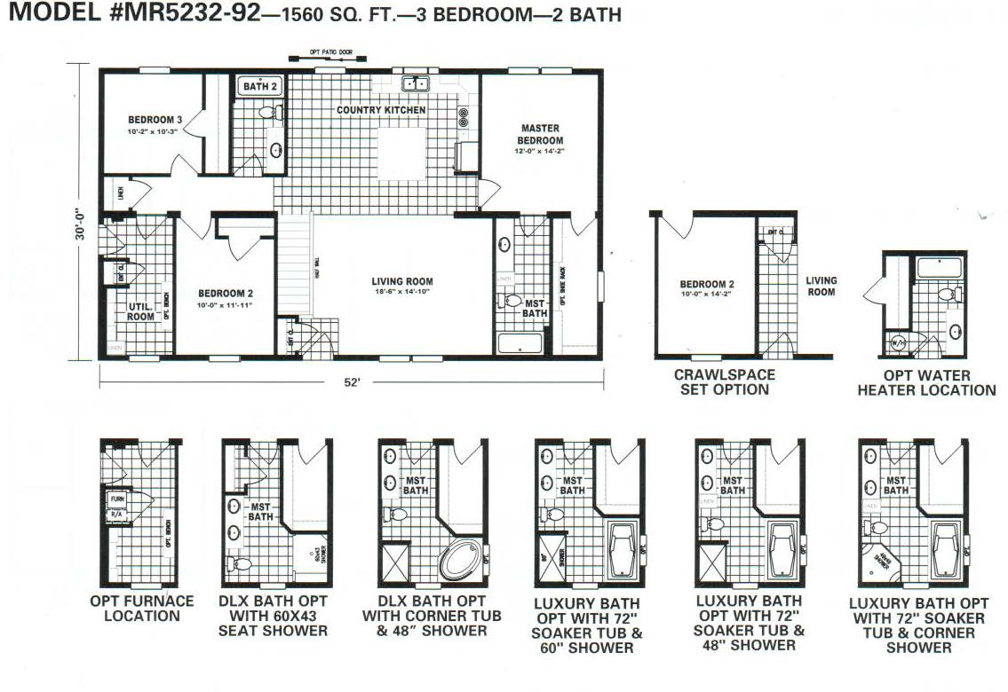 Main Street Homes Floor Plans