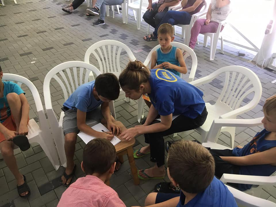 Maximum fun at the EXCELSIS Children's Camp from Rezina
