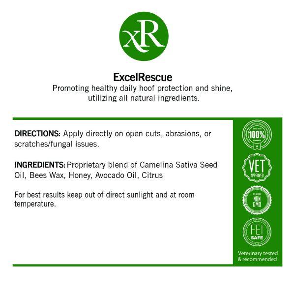 Excel Rescue Label