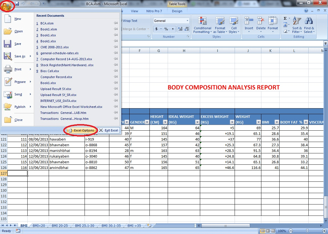 Open Existing Excel Sheet Using Vba