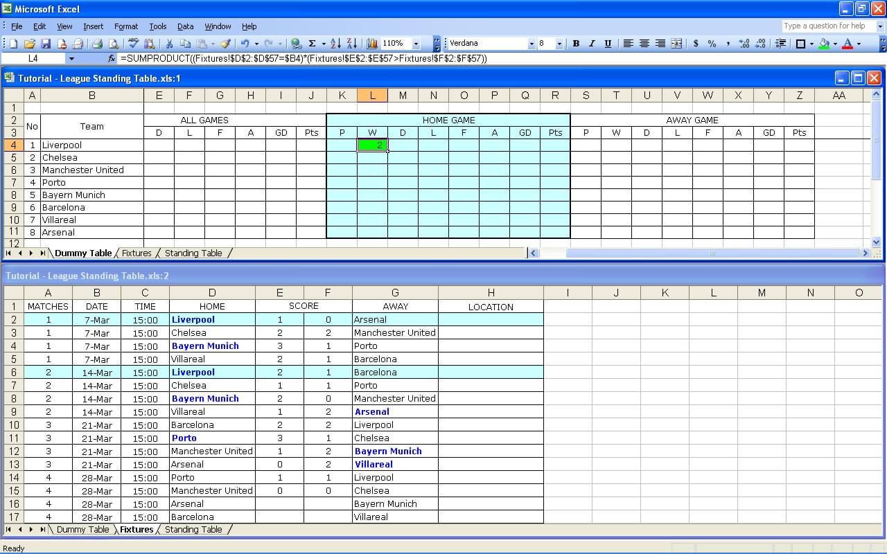 Hockey Stats Tracker Excel