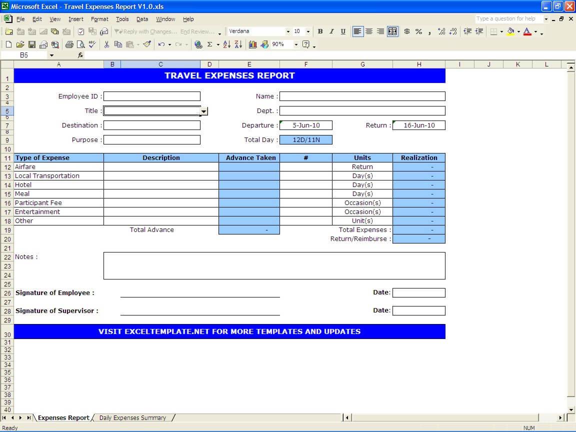 Affordability Worksheet Example