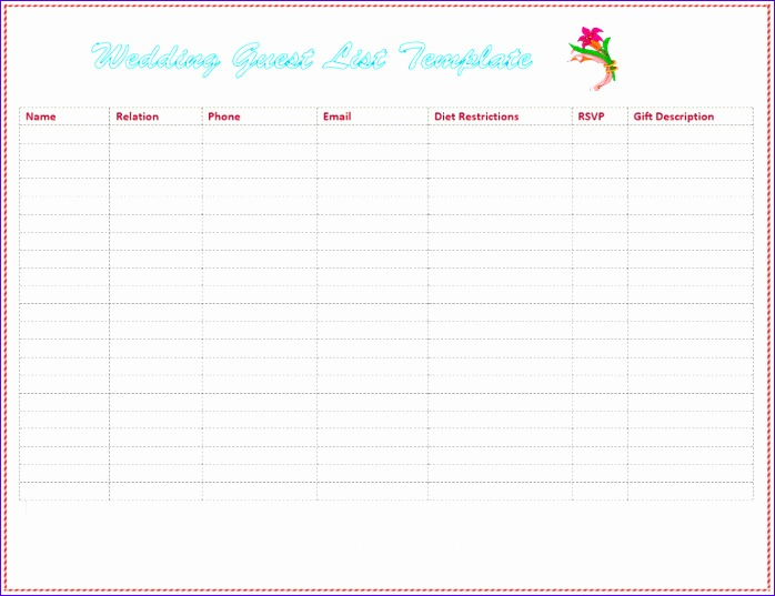 11 Excel Shopping List Template