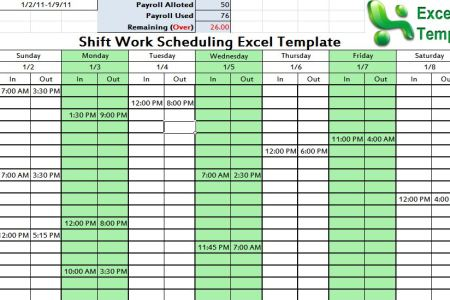 best formal letter format excel template for employee schedule