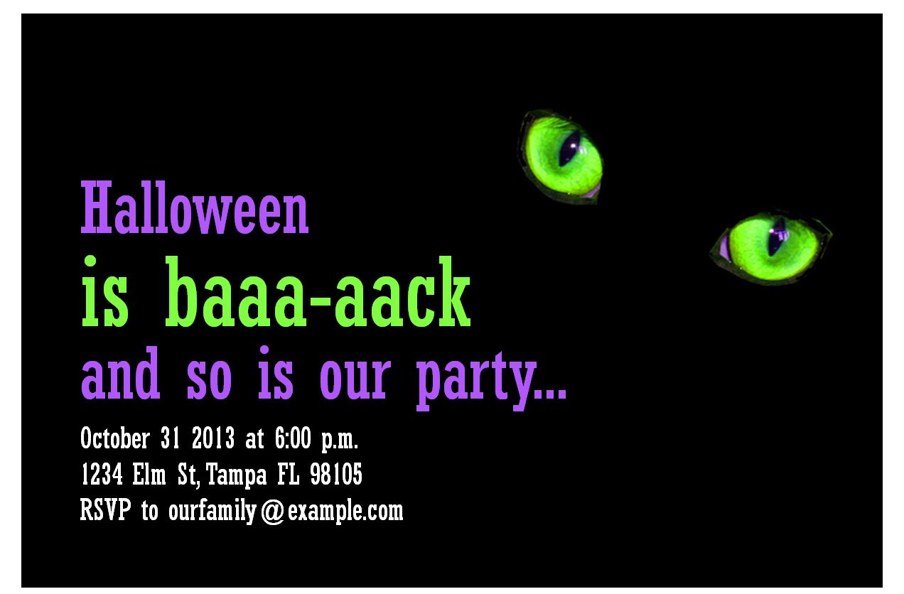 http exceltemplates net fun halloween party invitations