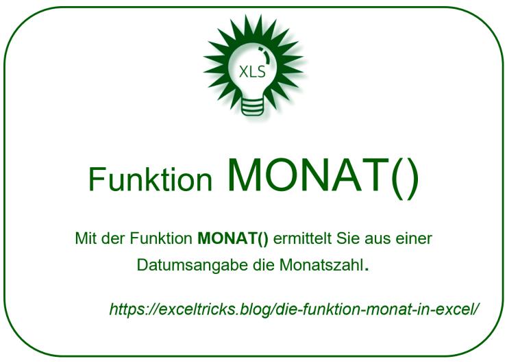 MONAT()