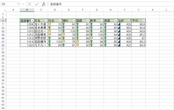 AutoFilter メソッド 使用例6_1_2