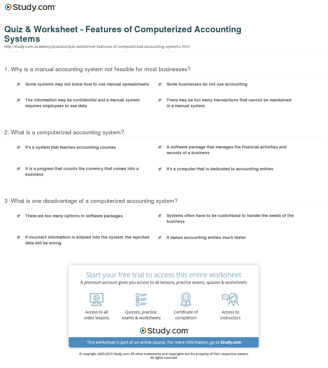 Blank Accounting Worksheet