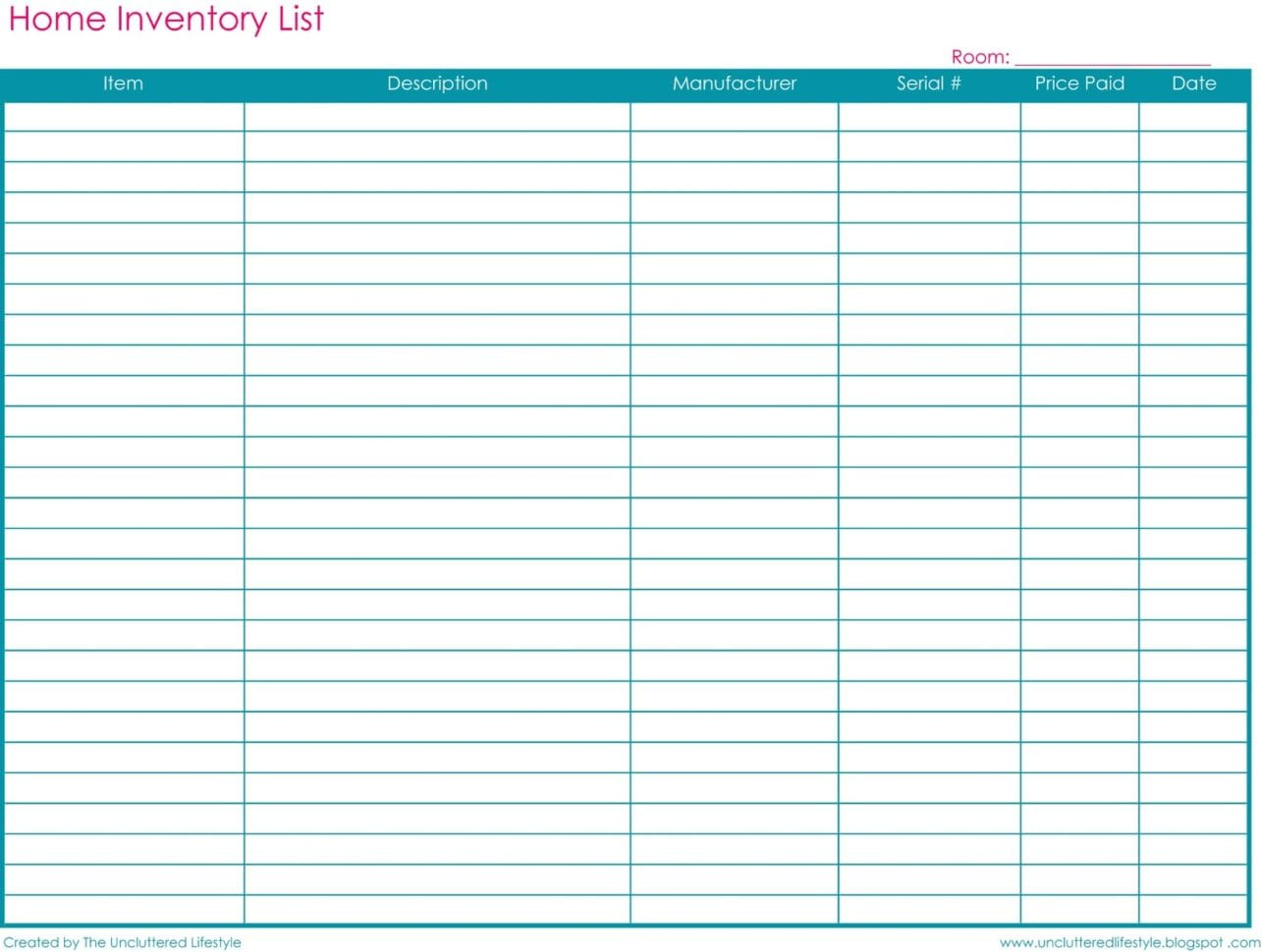 Inventory Spreadsheet Template Free Inventory Spreadsheet