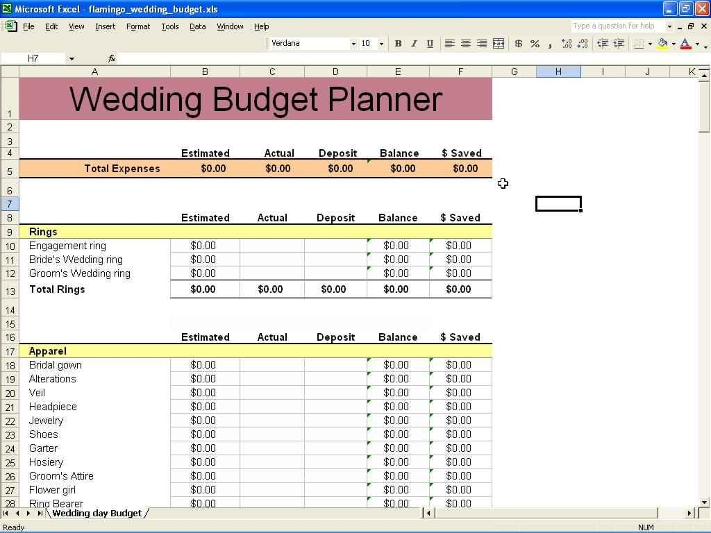 Sample Budget Spreadsheet For Non Profit 1 1