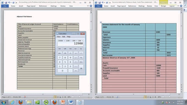 Retained Earnings Worksheet