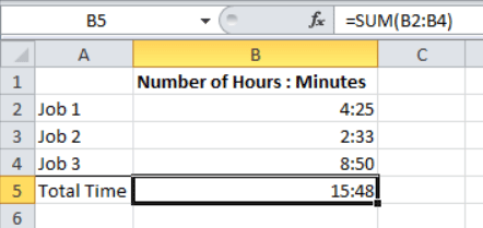 Adding and Subtracting Time in Excel - Excel Zoom