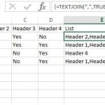 Introducing the TEXTJOIN function in EXCEL 2016