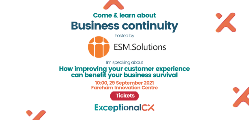 Come and learn about business contintuity