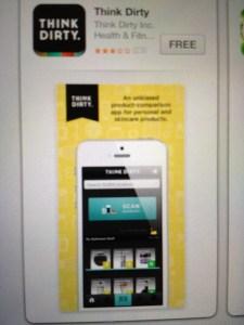 Think Dirty App