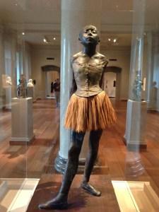 DC- Hilaire-Germain-Edgar Degas'  Little Dancer copyright Shelagh DonnellyAged Fourteen - Wax Statuette, 1879-81 copyright Shelagh Donnelly