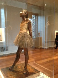 Little Dancer - Degas Copyright Shelagh Donnelly