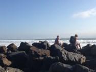 Enjoy the crashing waves