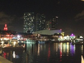 Biscayne Bay by night
