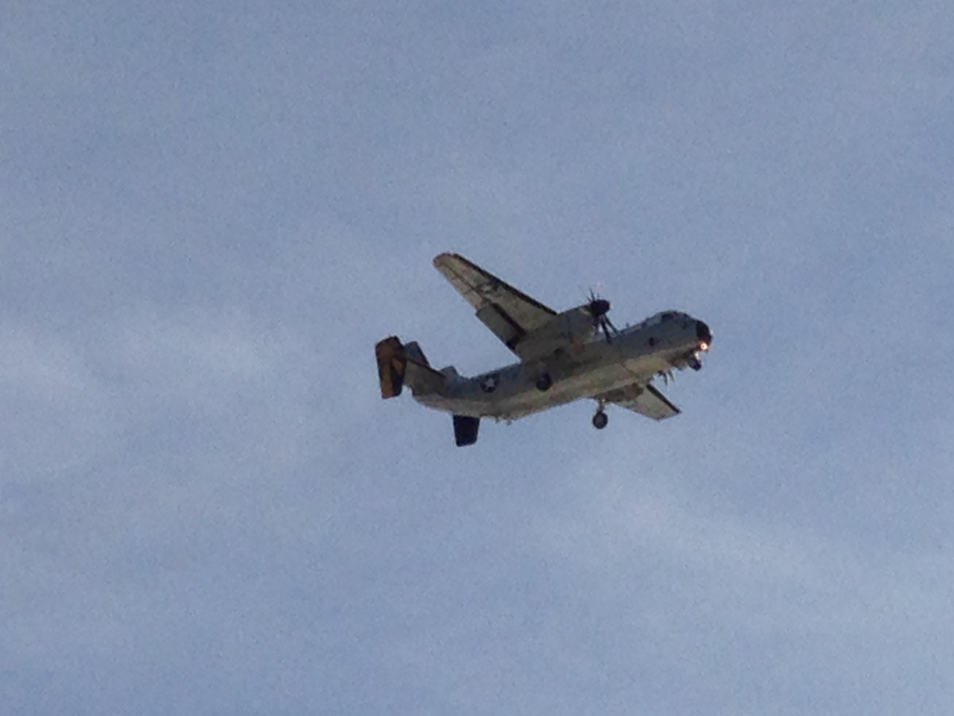 Plane Copyright Shelagh Donnelly