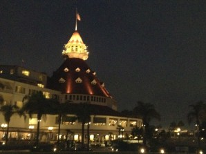 Dusk at the Hotel Del