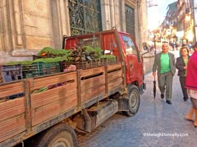 Basil Truck Porto Copyright Shelagh Donnelly