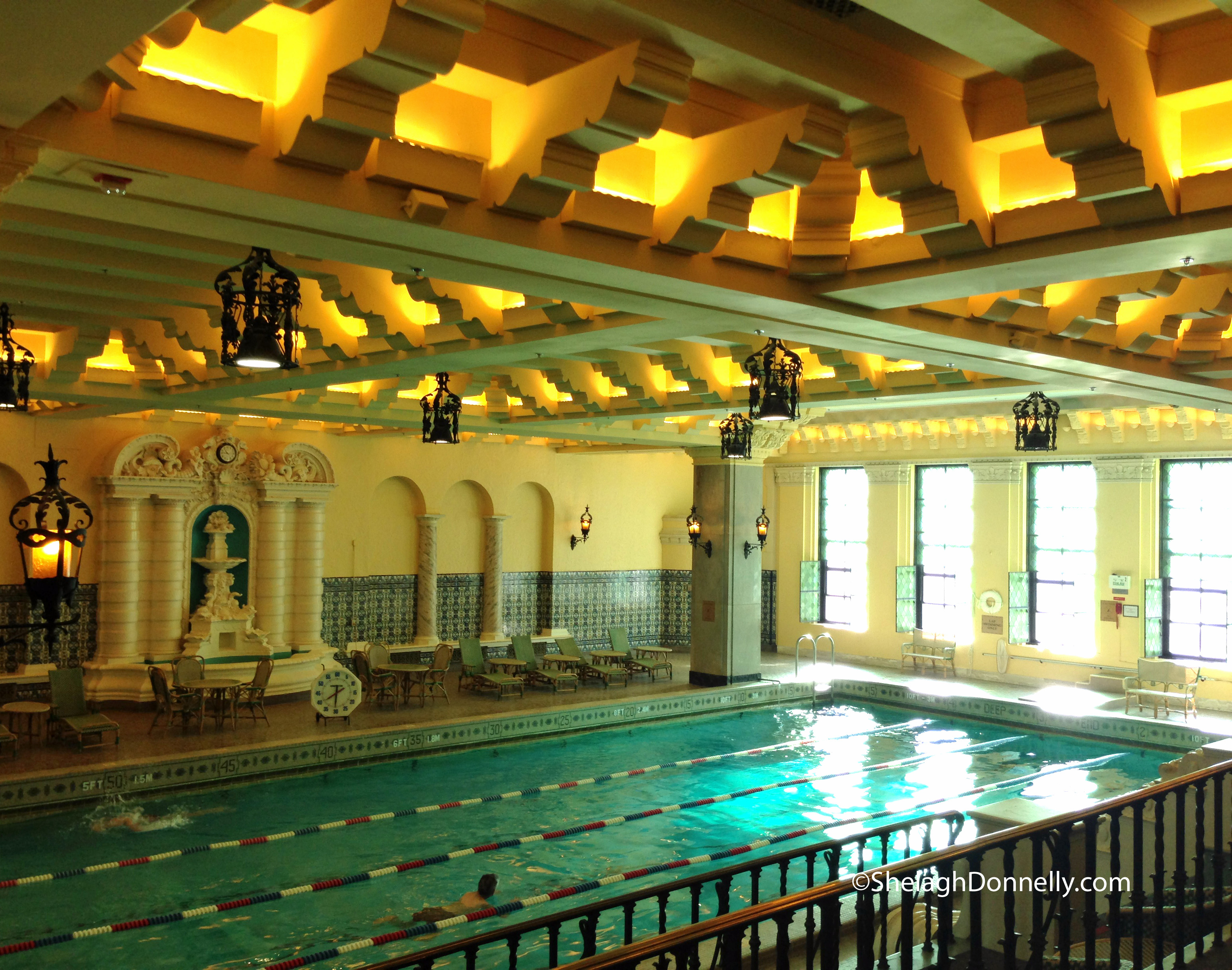InterContinental Pool 1209 Copyright Shelagh Donnelly