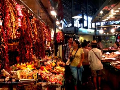 La Boqueria Barcelona 6087 Copyright Shelagh Donnelly