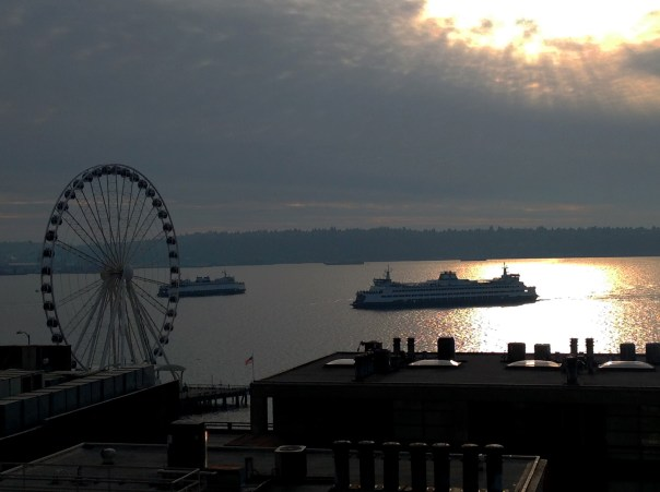 Elliott Bay Seattle Copyright Shelagh Donnelly