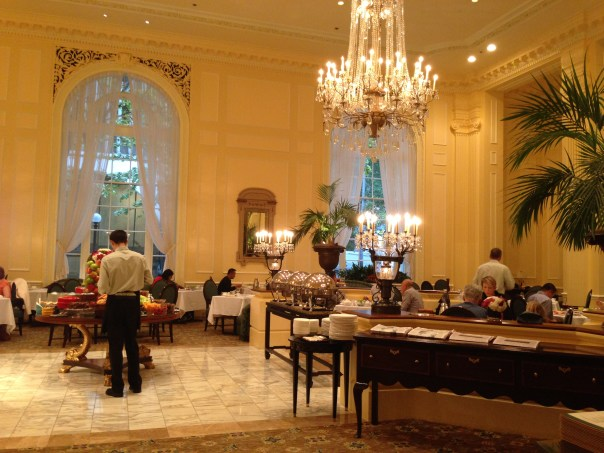 Fairmont Olympic Georgian Room Copyright Shelagh Donnelly