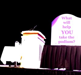 Take the Podium Copyright Shelagh Donnelly